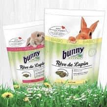 Alimentation de base pour lapins