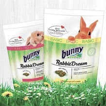 Alimentação base para coelhos