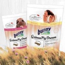 Alimentação base para porquinhos-da-índia