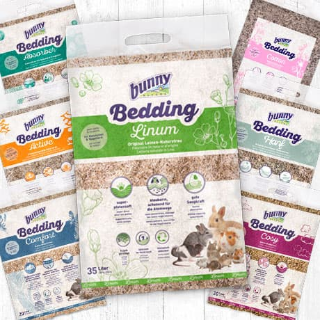 bunnyBedding | Our litter range - something for everyone!