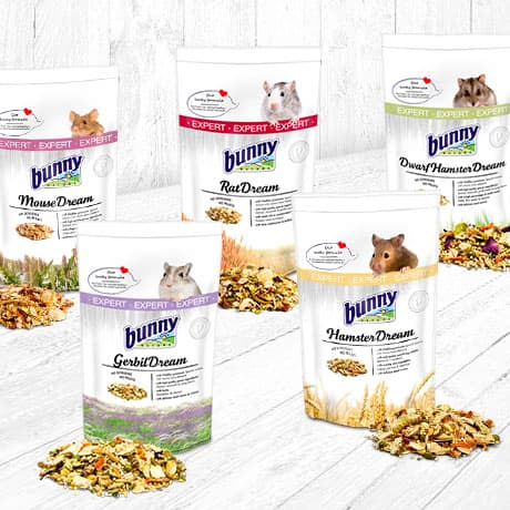 EXPERT | Our premium nutrition for granivore rodents